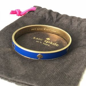 Blue Kate Spade Bangle Bracelet